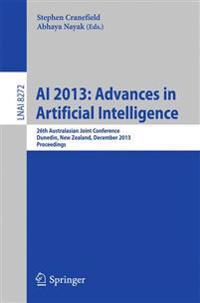 Ai 2013 Advances in Artificial Intelligence
