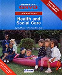 Foundation gnvq health and social care student book with options