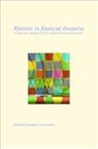Rhetoric in Financial Discourse