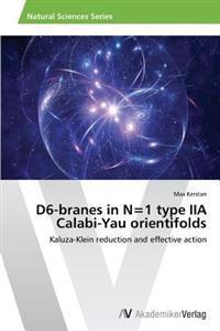 D6-Branes in N=1 Type Iia Calabi-Yau Orientifolds