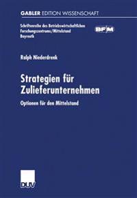 Strategien Für Zulieferunternehmen