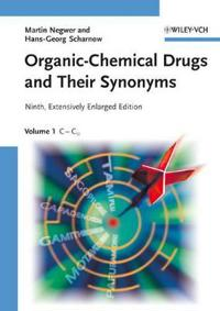 Organic-Chemical Drugs and Their Synonyms: 7 Volume Set