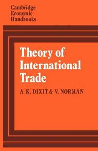 Theory of International Trade