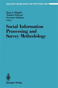 Social Information Processing and Survey Methodology