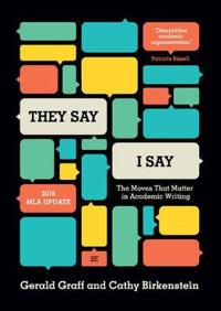 """""""They say/I Say"""""""