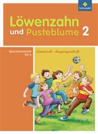 Löwenzahn und Pusteblume. Spracharbeitsheft A 2 Lateinische Ausgangsschrift