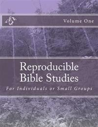 Reproducible Bible Studies: For Individuals or Small Groups