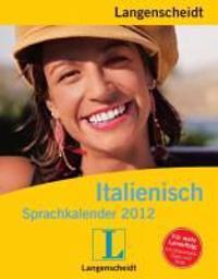 Langenscheidt Sprachkalender Italienisch 2012