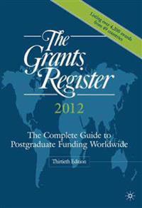 The Grants Register 2012