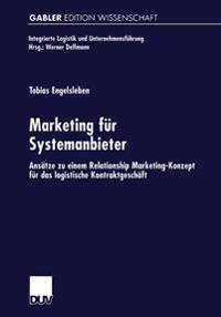 Marketing Für Systemanbieter