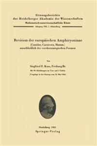 Revision Der Europ ischen Amphicyoninae