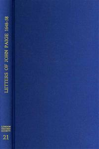 The Letters of John Paige, London Merchant, 1648-1658