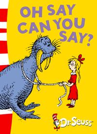Oh say can you say? - green back book