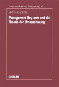 Management-Buyouts Und Die Theorie Der Unternehmung