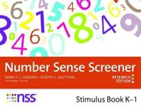 Number Sense Screener Nss Stimulus Book, Kû1