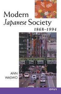Modern Japanese Society, 1868-1994