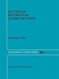 Success in Referential Communication