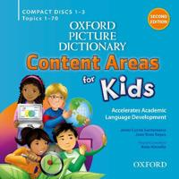 Oxford Picture Dictionary Content Areas for Kids: Audio CDs
