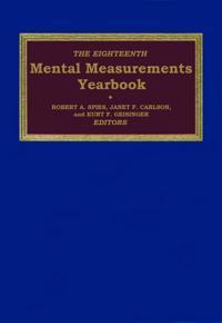 The Eighteenth Mental Measurements Yearbook