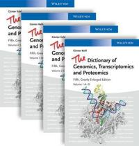 The Dictionary of Genomics, Transcriptomics and Proteomics
