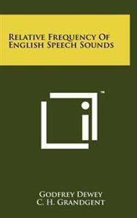 Relative Frequency of English Speech Sounds