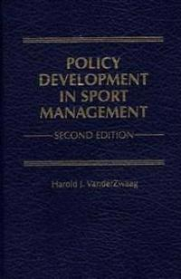 Policy Development in Sport Management