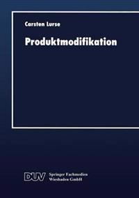 Produktmodifikation