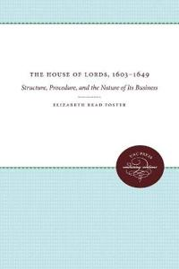The House of Lords, 1603-1649