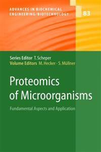 Proteomics of Microorganisms