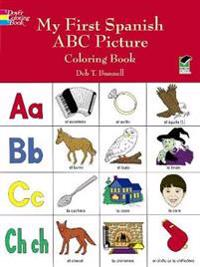 My First Spanish ABC Picture Coloring Book