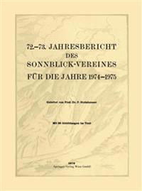 72.-73. Jahresbericht des Sonnblick-Vereines für die Jahre 1974-1975