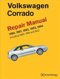Volkswagen Corrado (A2) Official Factory Repair Manual 1990-1994
