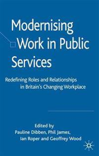 Modernising Work in Public Services
