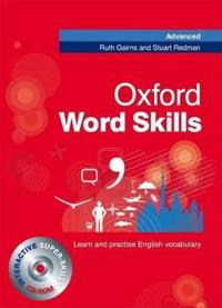 Oxford Word Skills Advanced: Student's Pack (Book and CD-ROM)