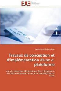 Travaux de Conception Et D'Implementation D'Une E-Plateforme