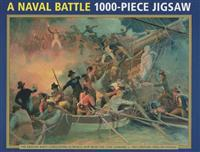 A Naval Battle 1000-Piece Jigsaw