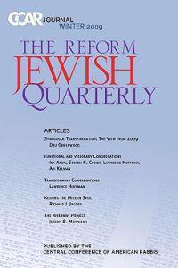 Ccar Journal: The Reform Jewish Quarterly Winter 2009