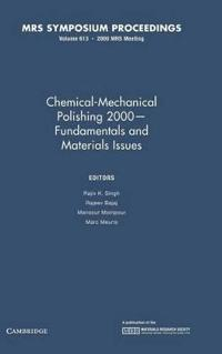 MRS Proceedings Chemical-Mechanical Polishing 2000 - Fundamentals and Materials Issues