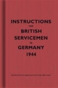 Instructions for British Servicemen to Germany