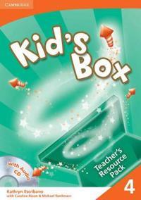 Kid's Box 4 Teacher's Resource Pack