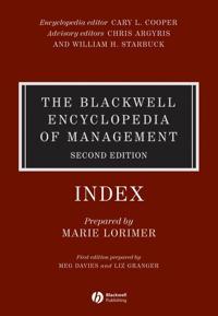 The Blackwell Encyclopedia of Management, Strategic Management