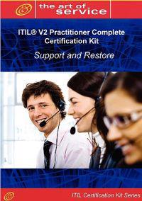 Itil V2 Support and Restore Ipsr Full Certification Online Learning and Study Book Course - the Itil V2 Practitioner Ipsr Complete Certification Kit