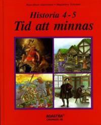 Historia Tid att minnas 4-5, elevbok