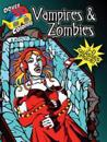 Vampires and Zombies Coloring Book