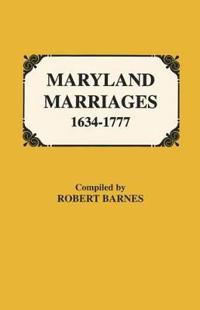 Maryland Marriages 1634-1777