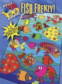 Fish Frenzy! Coloring Book