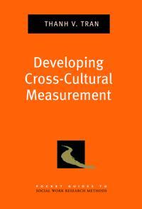 Developing Cross-Cultural Measurement
