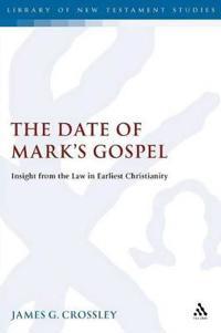 Date Of Mark's Gospel