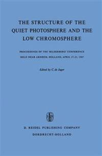 The Structure of the Quiet Photosphere and the Low Chromosphere
