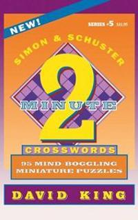 Simon & Schuster Two-Minute Crosswords